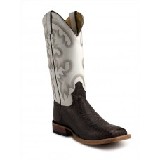 Bota Tony Lama Chocolate Vaca Malibu White