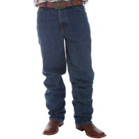 Calça Cinch Green Label Original Fit Dark Stonewash