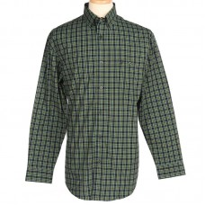 Camisa Wrangler 20X Advanced Comfort Competition Green