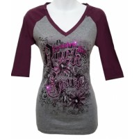Blusa Country Girl Rock Stars Metallic