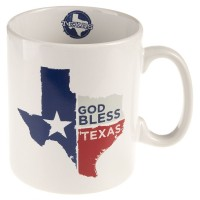 Caneca Home Essentials God Bless Texas
